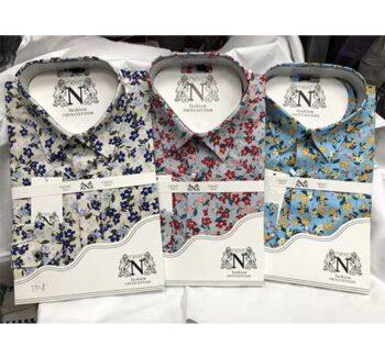 chemises manches longue avec motifs