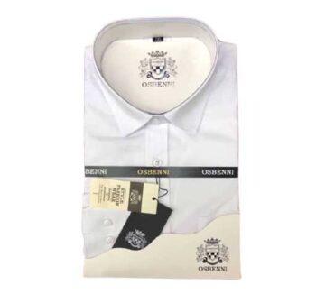 Chemise manches longues Osbenni Blanc togo