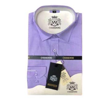 Chemise violette Osbenni en vente au togo