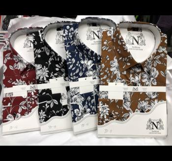 Chemises avec un jolie motif 100% coton