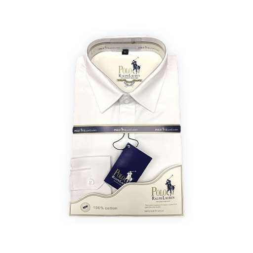 Chemise blanche polo